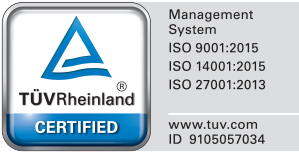 AMDATEX is TUV Rheinland Certified